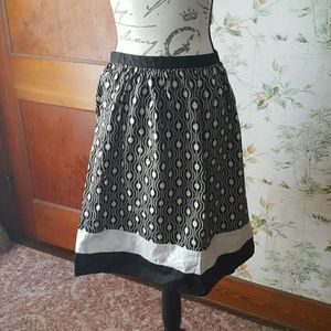 Talbots color block skirt
